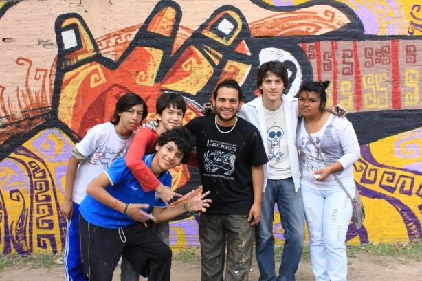 Mural Jesús Flores Walpaq y Mayra Halusch EES N 17 (1)