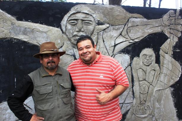 Mural Raúl Guzmán Casa del Bicentenario (1)